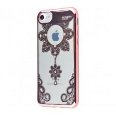 Чехол для iPhone 7/8 Beckberg Monsoon подсолнух розовый