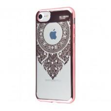Чехол для iPhone 7/8 Beckberg Monsoon молитва розовый