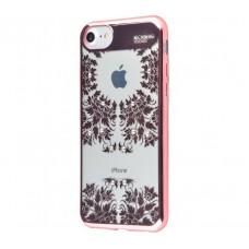 Чехол для iPhone 7/8 Beckberg Monsoon время розовый