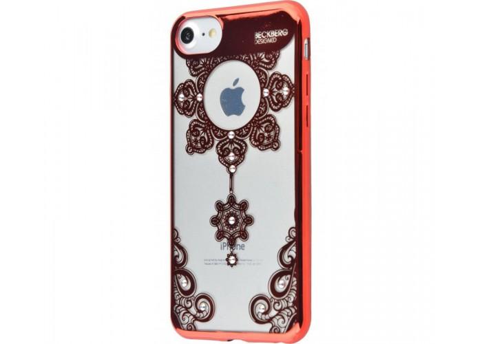 Чехол для iPhone 7/8 Beckberg Monsoon подсолнух красный
