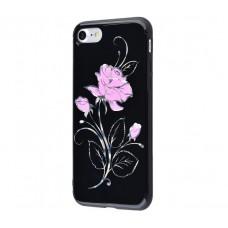 Чехол для iPhone 7/8 Glossy Rose розовый