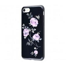 Чехол для iPhone 7/8 Glossy Rose фиолетовый