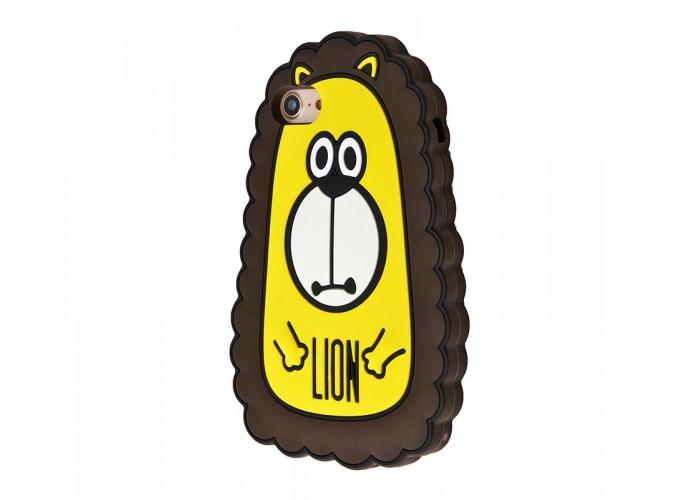 Чехол для iPhone 7/8 Fat Animals лев