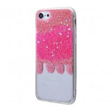 Чехол для iPhone 7/8 Shine розовый