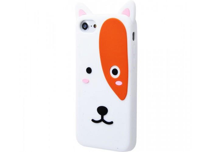 Чехол для iPhone 7/8 Zoo Look белый