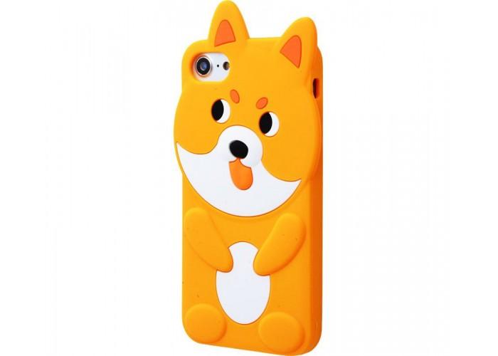Чехол для iPhone 7/8 Zoo Look оранжевый