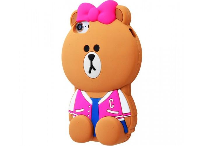 Чехол для iPhone 7/8 Bon Garcon New Jacket розовый