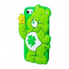 Чехол для iPhone 7/8 Care Bears зеленый
