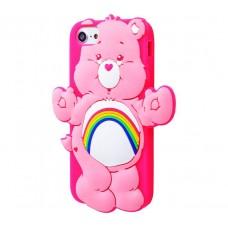 Чехол для iPhone 7/8 Care Bears розовый