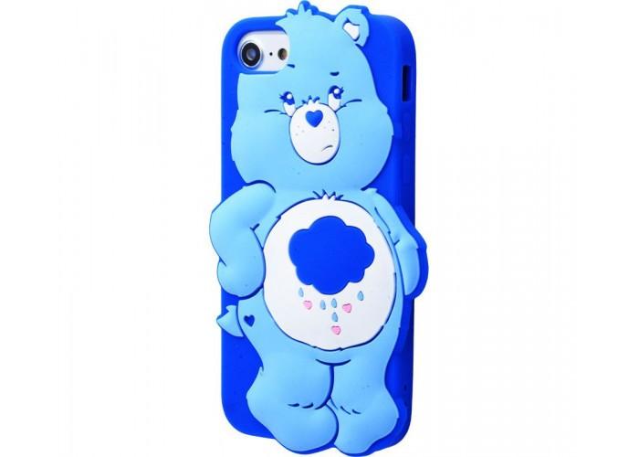 Чехол для iPhone 7/8 Care Bears синий