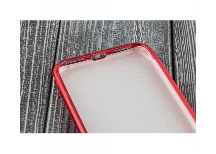 Чехол для iPhone 7/8 Shining Glitter Case с блестками красный