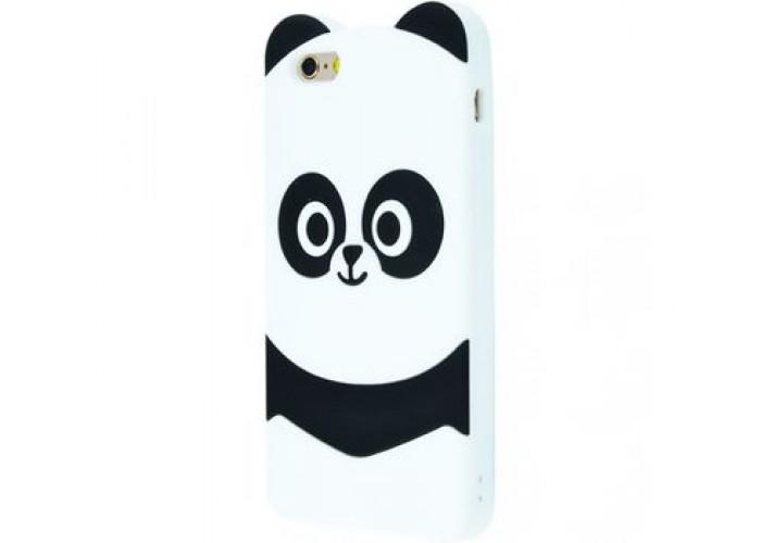Чехол для iPhone 7/8 Panda Yin Yang белый