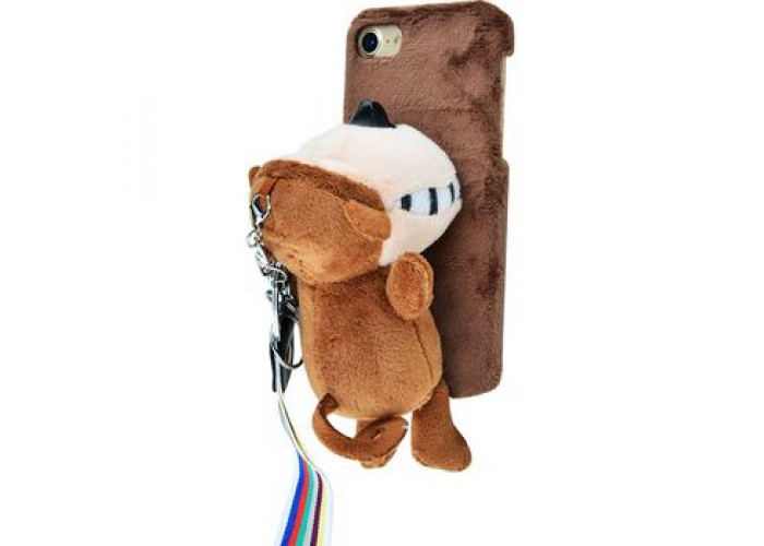 Чехол для iPhone 7/8 Soft Toy Animals обезьяна