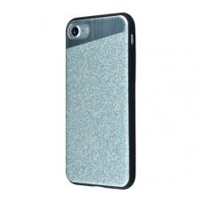 Чехол для iPhone 7/8 Totu Dazzle Series серебро