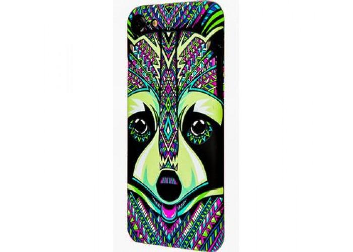 Чехол для iPhone 7/8 Luxo Face neon №2