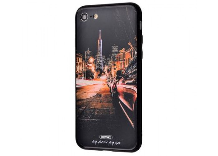 Чехол для iPhone 7/8 White Knight Pictures Glass 30
