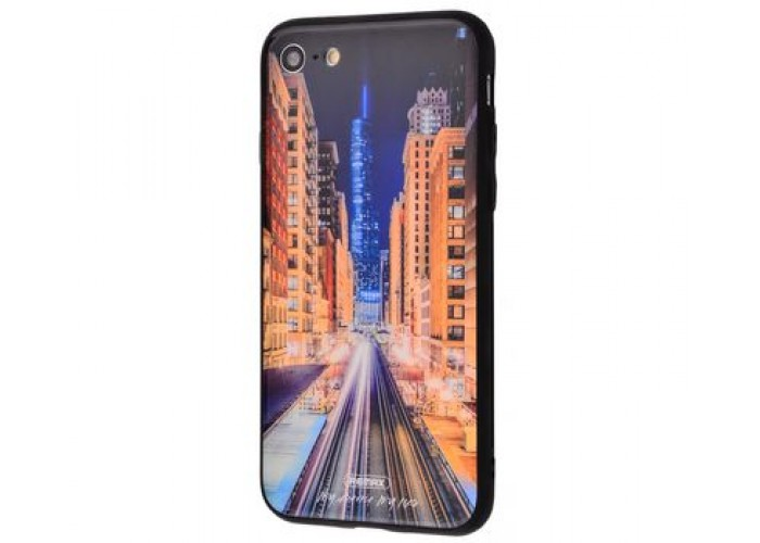 Чехол для iPhone 7/8 White Knight Pictures Glass 28