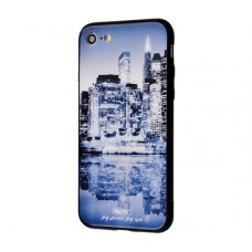 Чехол для iPhone 7/8 White Knight Pictures Glass 29