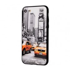 Чехол для iPhone 7/8 White Knight Pictures Glass 31