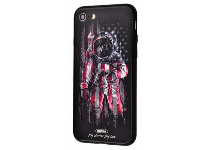 Чехол для iPhone 7/8 White Knight Pictures Glass 27