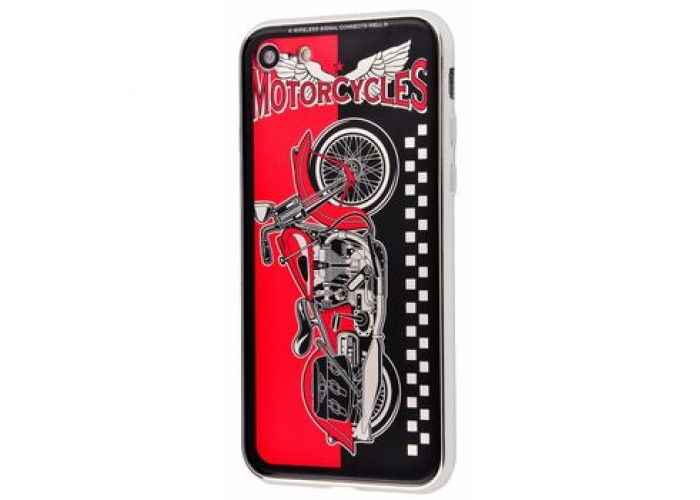 Чехол для iPhone 7/8 White Knight Pictures Harley