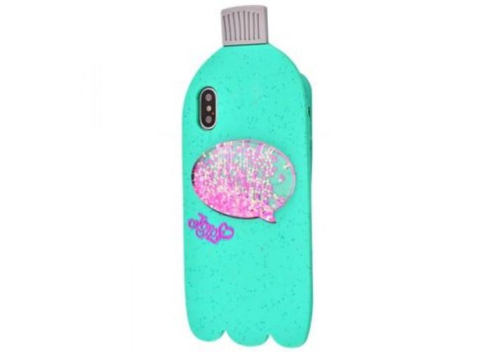 Чехол для iPhone X Bottle