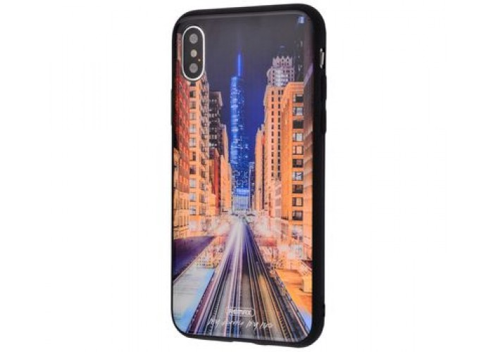 Чехол для iPhone X / Xs White Knight Pictures Glass 25