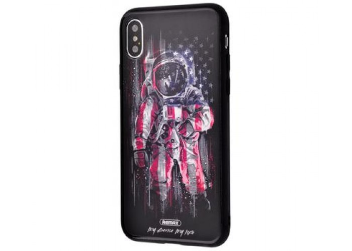 Чехол для iPhone X / Xs White Knight Pictures Glass 21