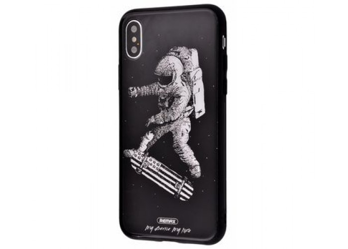 Чехол для iPhone X / Xs White Knight Pictures Glass 22