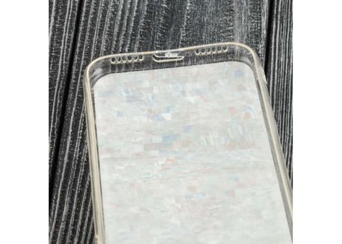 Чехол для iPhone X Blood Of Stone белый