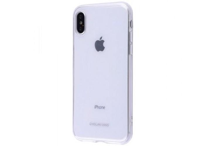 Чехол для iPhone X / Xs Molan Cano Jelly прозрачный