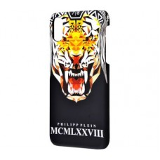 Чехол для iPhone X Philipp Plein тигр