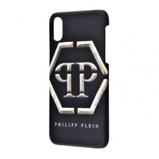 Чехол для iPhone X Philipp Plein logo