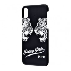 Чехол для iPhone X Philipp Plein былые тигры