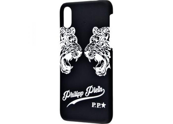 Чехол для iPhone X Philipp Plein былые тигры