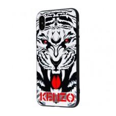 Чехол для iPhone X / Xs Kenzo Рык Тигра