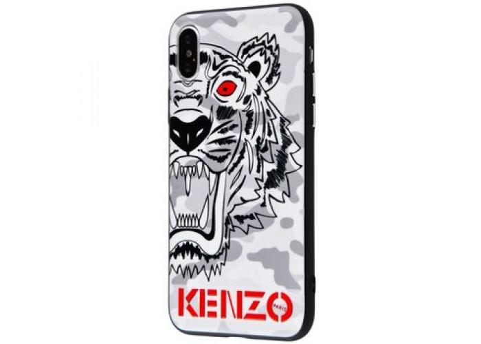Чехол для iPhone X / Xs Kenzo Тигр