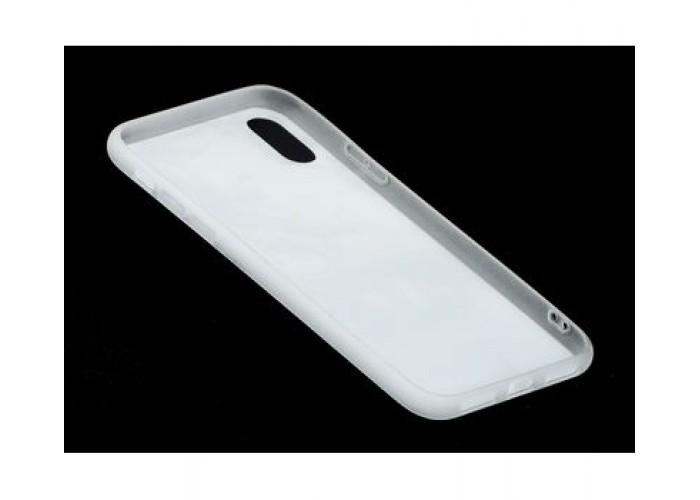 Чехол для iPhone X / Xs Перламутр Веер