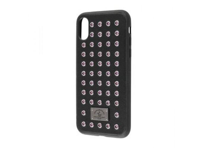 Чехол для iPhone X Polo Maverich (Leather) черный