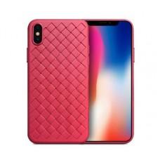 Чехол для iPhone X Skyqi красный