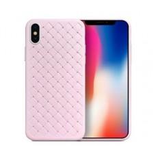 Чехол для iPhone X Skyqi розовый