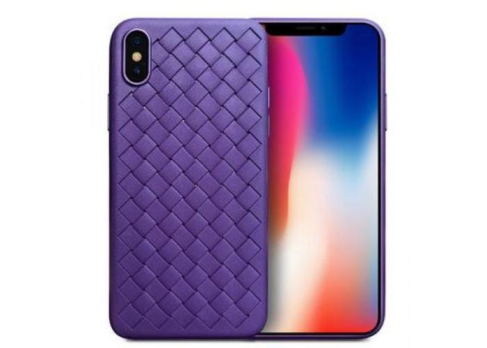 Чехол для iPhone X Skyqi фиолетовый
