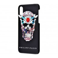 Чехол для iPhone X Philipp Plein череп