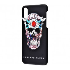 Чехол для iPhone X Philipp Plein череп