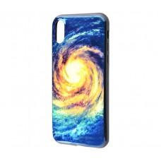 Чехол для iPhone X / Xs Перламутр Галактика