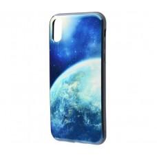 Чехол для iPhone X Перламутр Планета