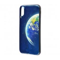 Чехол для iPhone X Перламутр Планета Земля