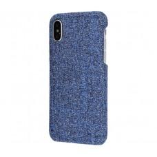 Чехол для iPhone X / Xs Jeans синий