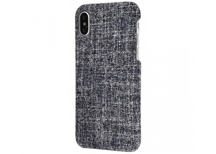 Чехол для iPhone X / Xs Jeans черный