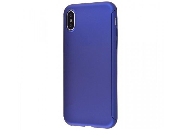 Чехол для iPhone X Voero 360 Protect Case Синий